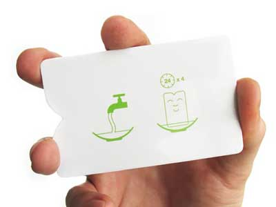 business cards that grow